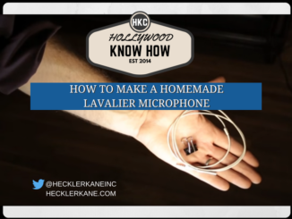 homemade lavalier microphone