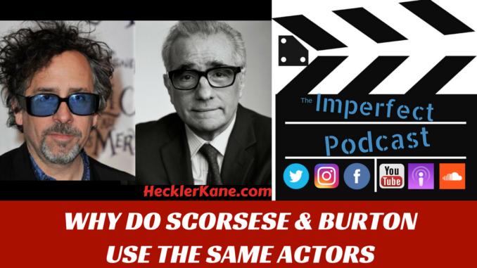 Martin Scorsese Tim Burton