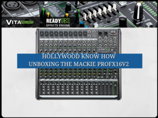 Unboxing the Mackie PROFX16V2 Mixing Board