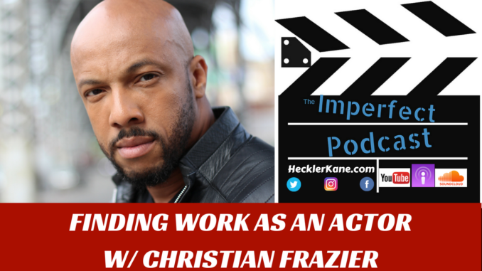 Actor Christian Frazier