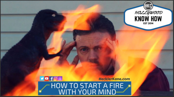 How to Start a Fire With Your Mind