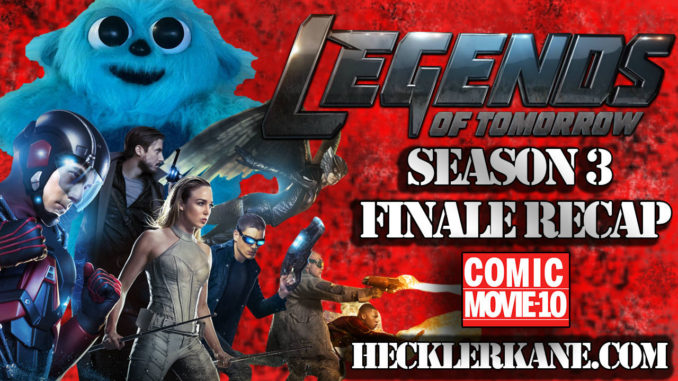 DC Legends of Tomorrow Season 3 Finale