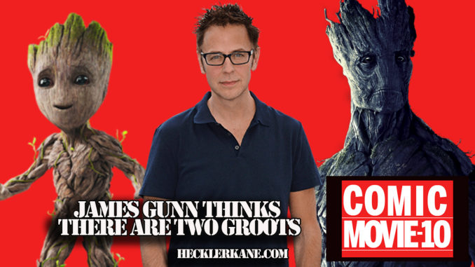 James Gunn Thinks There Are Two Groots