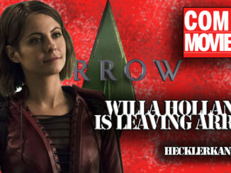Why Is Willa Holland Leaving Arrow?