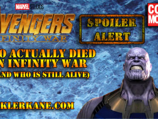 who dies in avengers infinity war