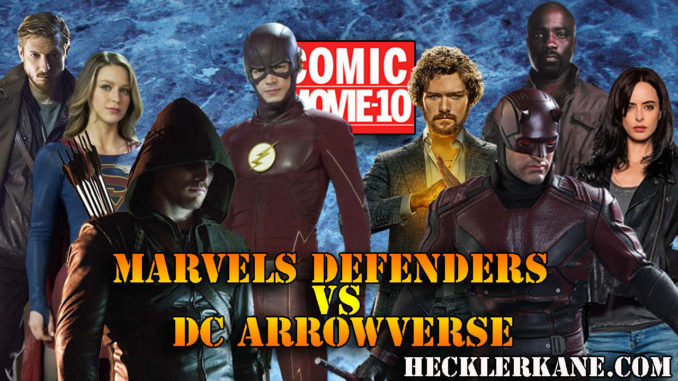 Marvel Defenders vs DC Comics Arrowverse - Who Does