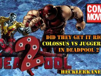 Colossus vs Juggernaut Fight Scene Review