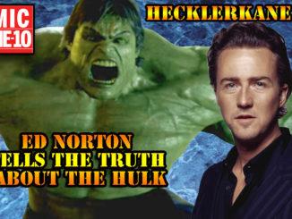 Ed Norton Bashes Incredible Hulk