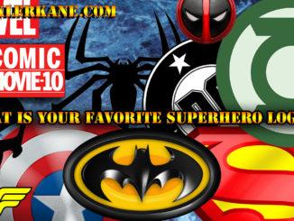 Who Has the Best Superhero Logos?