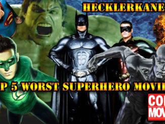 5 Worst Superhero Movies