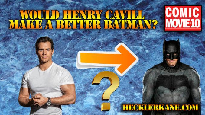 henry cavill as batman