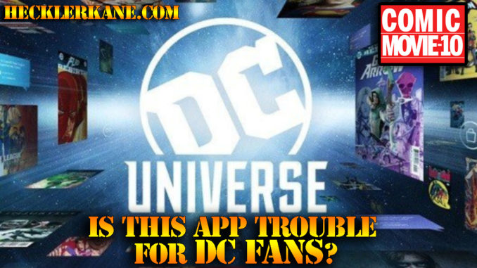 DC Universe Mobile App Review