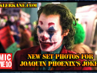 Joaquin Phoenix as The Joker, New Set Photos
